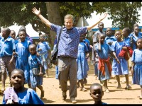 David at Kasiisi Primary School