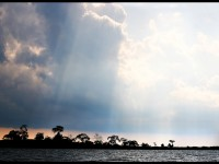 Storm Breaking on Lake Victoria